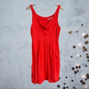 Anthropologie BB Dakota Red dress Size 8 Like new